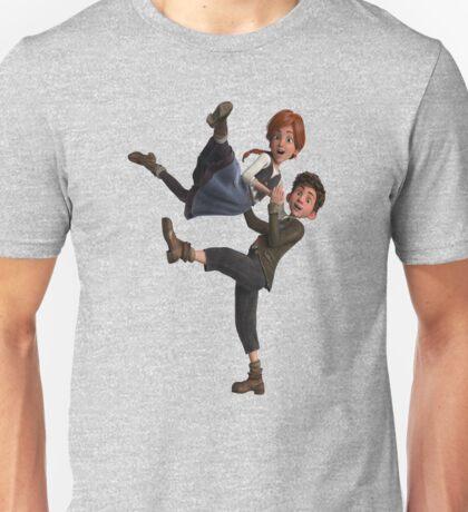ballerina love Unisex T-Shirt