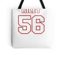 NFL Player Perry Riley fiftysix 56 Tote Bag