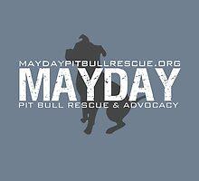Grey/Blue Pillows & Totes by MaydayPitBull