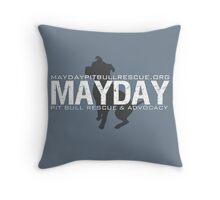 Grey/Blue Pillows & Totes Throw Pillow