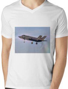 Israeli Air Force Lockheed Martin F-35 (Adir)  Mens V-Neck T-Shirt