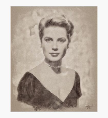 Grace Kelly, Vintage Hollywood Actress Photographic Print