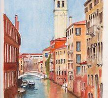 San Giorgio dei Greci, Venezia by Dai Wynn