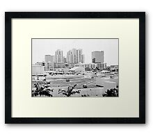 They paved Paradise ... Framed Print