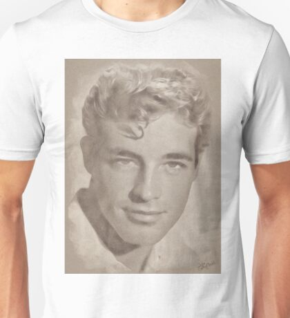 Guy Madison, Vintage Hollywood Actor Unisex T-Shirt