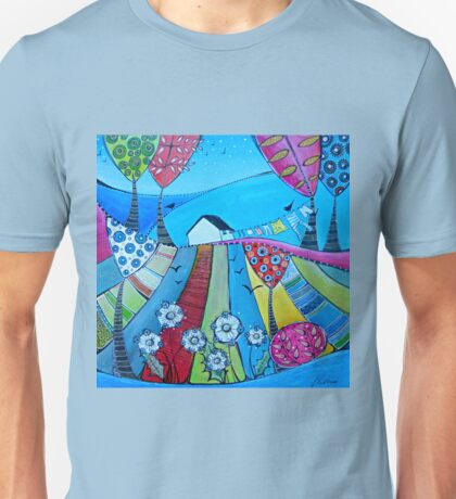 Little house on the hill Unisex T-Shirt