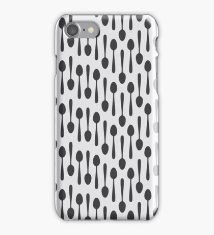 Kitchen cutlery spoons iPhone Case/Skin