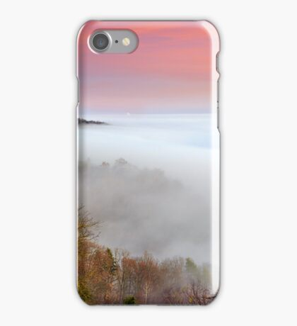 The house at the Lake of fog iPhone Case/Skin