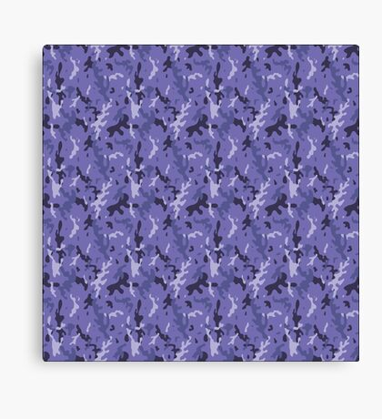 Camouflage navy pattern Canvas Print