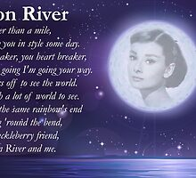 Moon River Poster + T-shirt by icedtees