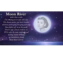 Moon River Poster + T-shirt Photographic Print