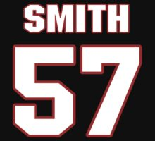 NFL Player Keith Smith fiftyseven 57 T-Shirt