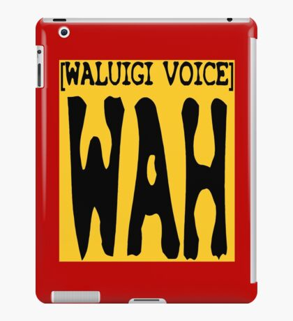 waluigi iPad Case/Skin