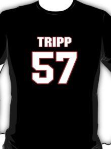NFL Player Jordie Tripp fiftyseven 57 T-Shirt