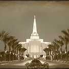 Gilbert Temple - Early Morning Antique hz 30x20 by Ken Fortie