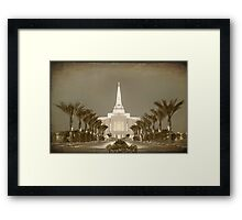 Gilbert Temple - Early Morning Antique hz 30x20 Framed Print