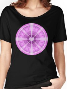 Heart Meditation Mandala Women's Relaxed Fit T-Shirt