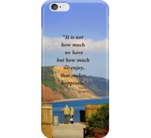 What a View! iPhone Case/Skin