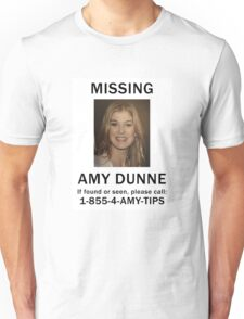 Amy Dunne Missing Poster Unisex T-Shirt