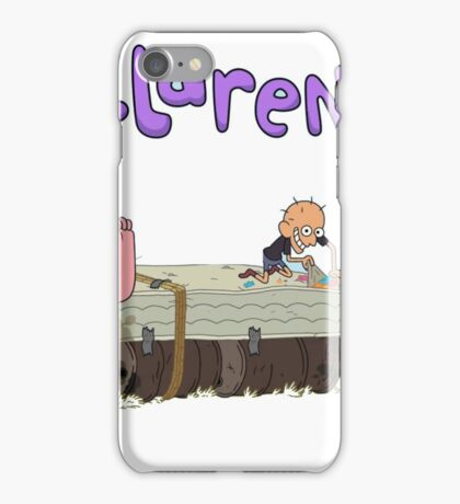 Clarence and friends  iPhone Case/Skin