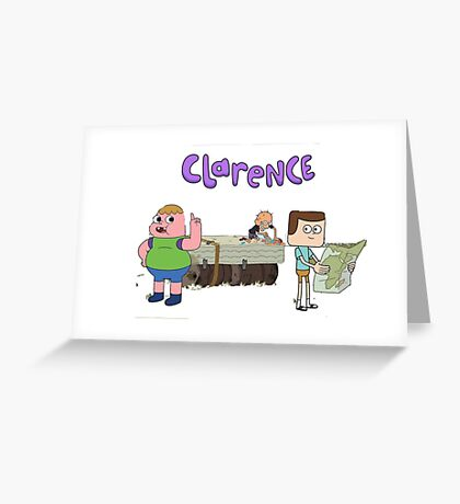 Clarence and friends  Greeting Card
