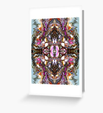 Agate number 4 Greeting Card