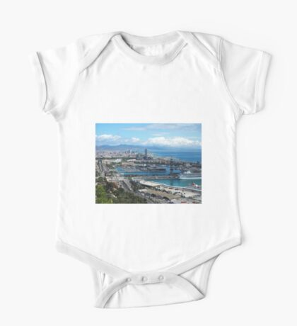 Barcelona Harbour One Piece - Short Sleeve