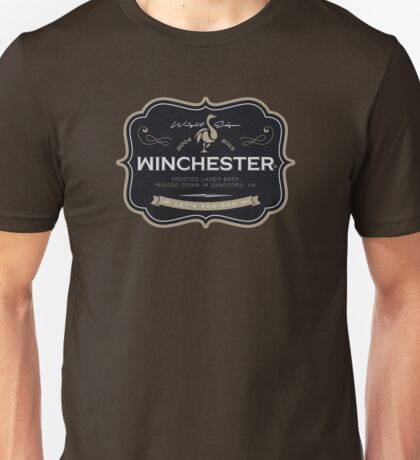 Winchester, Cold Pint, Wait Unisex T-Shirt