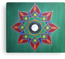 Introvert ~ Mandala on Canvas Canvas Print