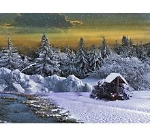 ' fantasy Christmas ' Oil. Photographic Print