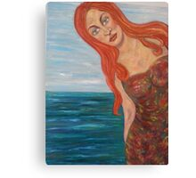 Belle en Espagne Canvas Print