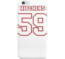 NFL Player Anthony Hitchens fiftynine 59 iPhone Case/Skin