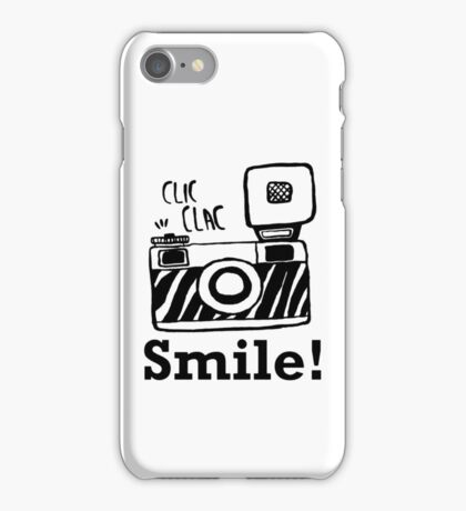 Smile For Camera - Photographer - Photo - Photography Gift iPhone Case/Skin