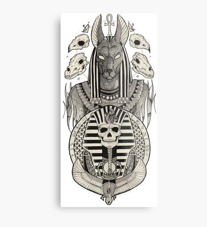 Anubis. Metal Print