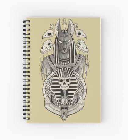 Anubis. Spiral Notebook