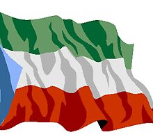 Equatorial Guinea Flag by kwg2200
