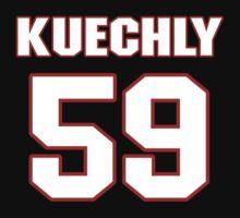 NFL Player Luke Kuechly fiftynine 59 by imsport