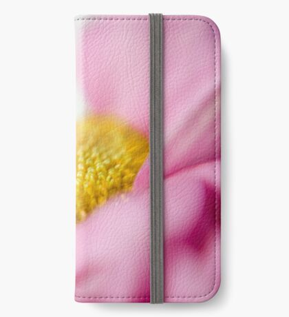 Flower power (pale pink) iPhone Wallet/Case/Skin