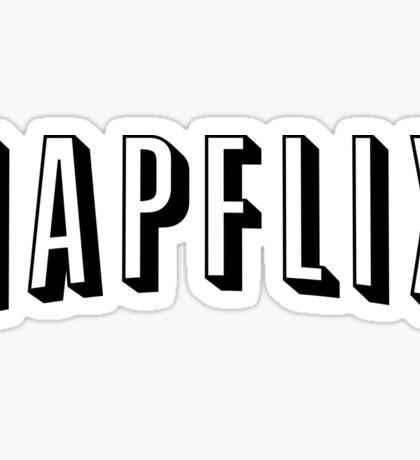 NAPFLIX Sticker
