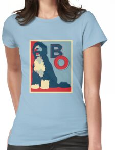 Bo Obama Womens Fitted T-Shirt