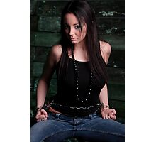 Rachel Boden in the Belly Chain Cuffs Photographic Print