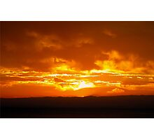 Tequila Sunrise. Photographic Print