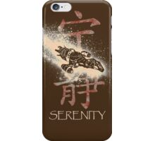 Firefly Serenity Silhouette iPhone Case/Skin