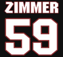 NFL Player Mike Zimmer fiftynine 59 by imsport