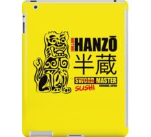 Kill Bill Hattori Hanzō Sword Master iPad Case/Skin