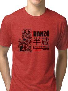 Kill Bill Hattori Hanzō Sword Master Tri-blend T-Shirt