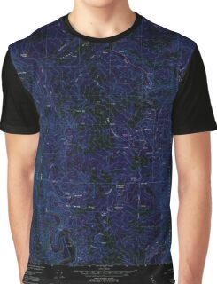 USGS TOPO Map California CA Brushy Mtn 300024 1966 24000 geo Inverted Graphic T-Shirt