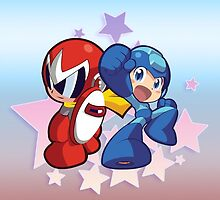 Rockman & Protoman | Please Like and Share :) by Gaming4All