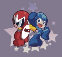 Rockman & Protoman | Please Like and Share :) Kids Clothes