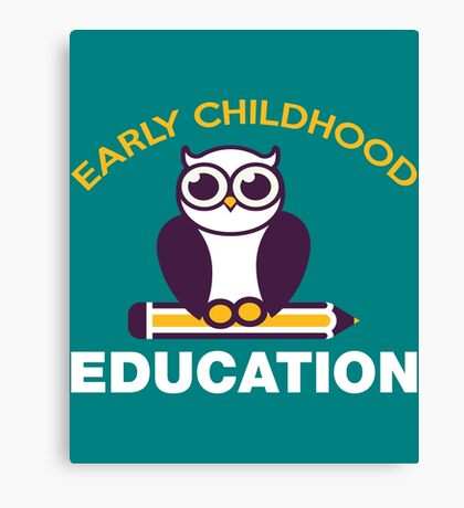 Early childhood education  Canvas Print